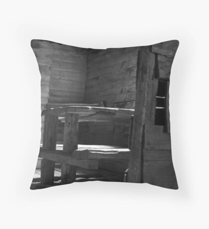 Ducane Hut - Overland Track Tasmania Throw Pillow