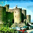 Beautiful Britain - Harlech Castle, Wales by Dennis Melling