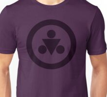 Shadow Medallion (large) Unisex T-Shirt