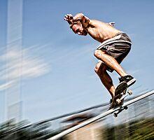 Skater 001 by Peyton Duncan