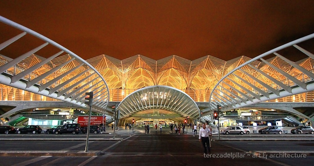 the span. Gare do Oriente. Lisbon by terezadelpilar~ art & architecture