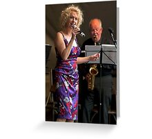 Shipstone Street Jazz Orchestra #7 Greeting Card