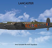 Lancaster 617 Sqn 1 by Claveworks