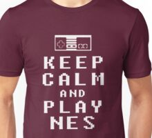 KEEP CALM AND PLAY NES - Parody Unisex T-Shirt