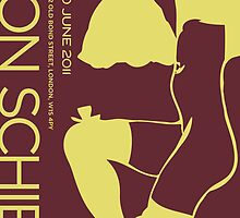 Revised - Schiele Poster by C Rodriguez