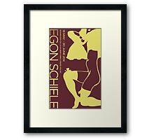 Revised - Schiele Poster Framed Print