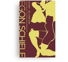 Revised - Schiele Poster Canvas Print