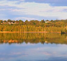 In A Reflective Mood (75 Exposure HDR Panorama) - Narrabeen Lakes,Sydney - The HDR Experience by Philip Johnson