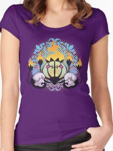 Ghost Hugs Women's Fitted Scoop T-Shirt