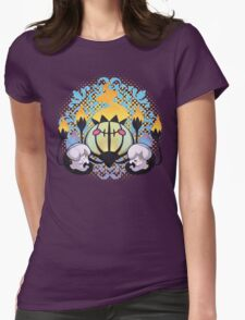 Ghost Hugs Womens Fitted T-Shirt