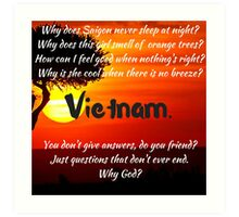 Miss Saigon - WHY GOD WHY Art Print