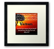 Miss Saigon - WHY GOD WHY Framed Print