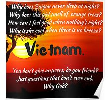 Miss Saigon - WHY GOD WHY Poster