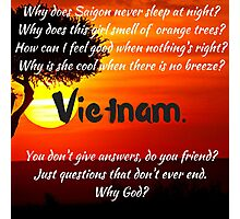 Miss Saigon - WHY GOD WHY Photographic Print