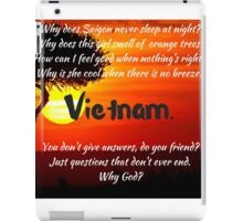 Miss Saigon - WHY GOD WHY iPad Case/Skin