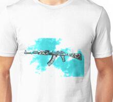 CSGO AK-47 Frontside Misty 2  Unisex T-Shirt