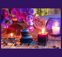 tropical paradise,zen,peace,orchid,spa,yoga,meditation, healing by Healinglove