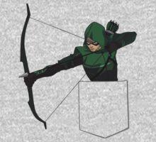 Arrow in my Pocket One Piece - Long Sleeve