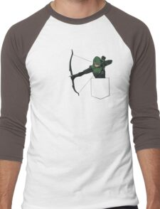 Arrow in my Pocket Men's Baseball ¾ T-Shirt