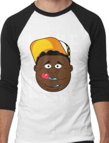 Fat kid love cake Men's Baseball ¾ T-Shirt