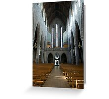 St Mary's Cathedral Killarney Kerry 5 Greeting Card