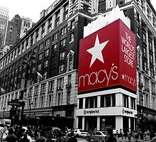 Macy's Department Store - New York City by Tom Clancy