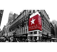 Macy's Department Store - New York City Photographic Print