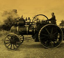 Ye Olde Traction Engine by moor2sea