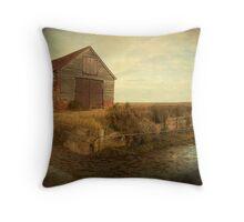Coal Shed, Thornham, Norfolk Throw Pillow