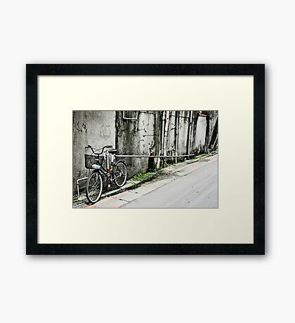 Pipe Dream Bike Framed Print