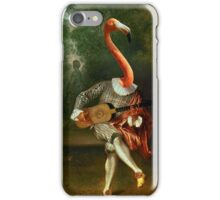 pink flamenco  iPhone Case/Skin
