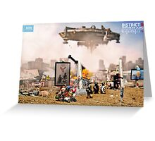 """DISTRICT 9 """"Paving the way to unity"""" Greeting Card"""