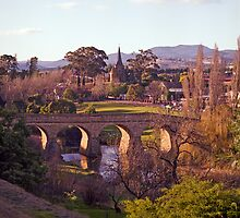 Winter, Richmond Bridge, Tasmania by Brett Rogers