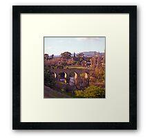Winter, Richmond Bridge, Tasmania Framed Print