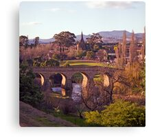 Winter, Richmond Bridge, Tasmania Canvas Print