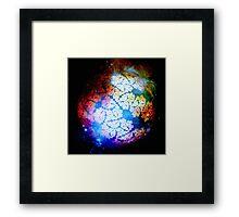 Birth Of A Star Framed Print