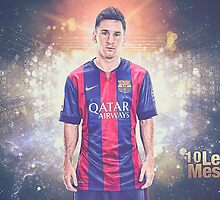 Messi  Soccer Legend Poster 1 by emamalarabiy
