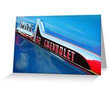 32 Chevrolet Greeting Card