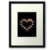 Marquee Love Framed Print
