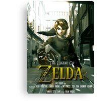 Legend of Zelda Movie Poster Canvas Print