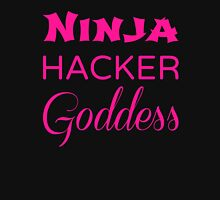 Felicity Smoak - Ninja Hacker Goddess - Text Edition Unisex T-Shirt