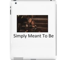 Simply Meant To Be iPad Case/Skin