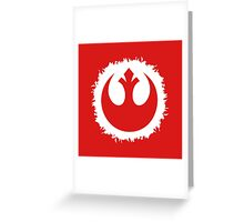 Rebels Greeting Card