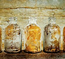Golden Bottles by Barbara Ingersoll