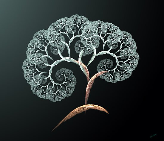 cherry blossom fractal tree by 4Flexiway