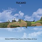 Embraer Tucano Chile 1 by Claveworks