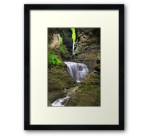 Stairway Through The Gorge Framed Print