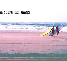 Surfing In Inch by mairead62
