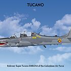 Embraer Tucano Colombia 2 by Claveworks