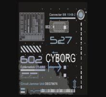 Cyborg T/2. T-Shirt